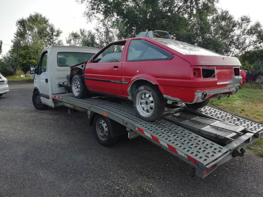 Autómentés M5 – Csürök Zsolt autómentő